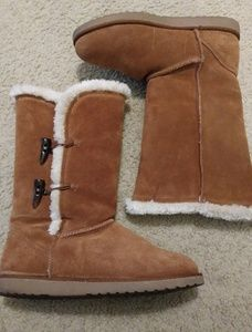 Mossimo Chestnut Suede Boots